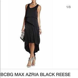 BCBGMAXAZRIA Hi-low REESE dress